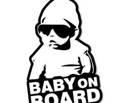 BabyOnBoard Hangover Sticker