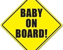 Original Baby On Board Sticker