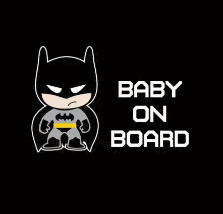 Batman Baby on Board
