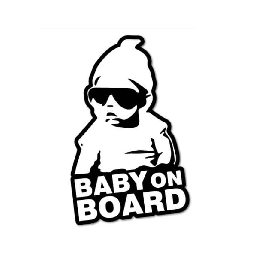 Baby On Board Decal The Hangover Carlos Car Window Vinyl Sticker Baby In Car