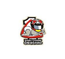 Baby Champ on Board Sticker