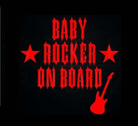 Baby Rocker on Board Sticker