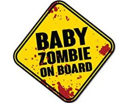 Baby Zombie On Board Decal
