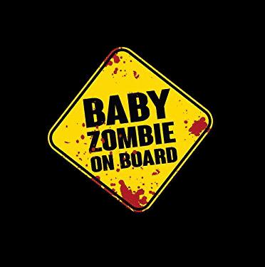 Baby Zombie on Board Sticker