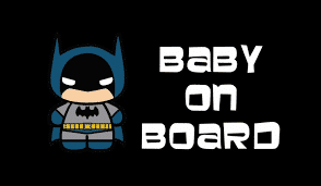 Batman Baby on Board Store