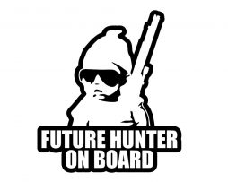 Future Hunter on Board Sticker