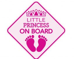Little Princess on Board Sticer