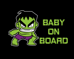 Baby On Board Hulk