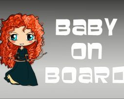 Merida Baby On Board Sticker