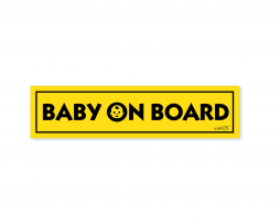 Baby on Board Car Bumper Sticker