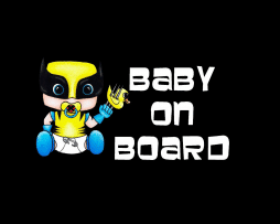 Wolverine Baby On Board