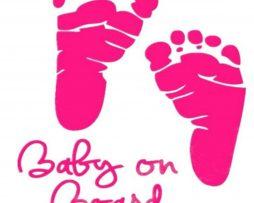 Baby Feet On Board