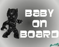 Black Panther On Board