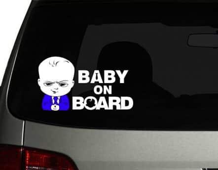 Boss Baby On Board
