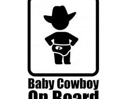 Baby Cowboy On Board