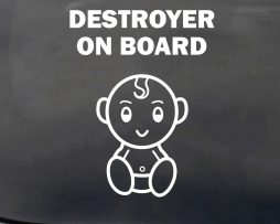 Destroyer Baby On Board