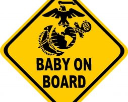 Marines Baby On Board