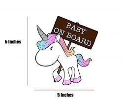Unicorn Baby On Board