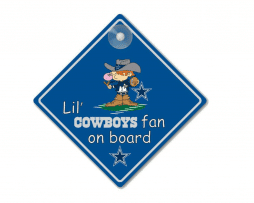 Lil Cowboys Fan On Board Sticker