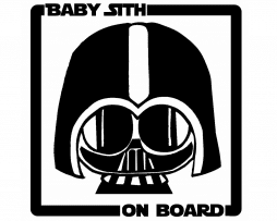 Baby Sith on Board Sticker