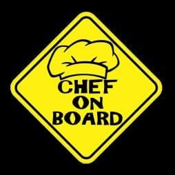 Chef on Board Sticker