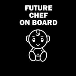 Future Chef on Board Sticker
