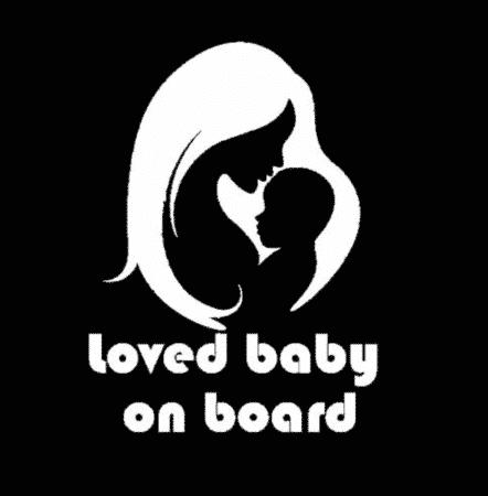 Loved Baby on Board Sticker