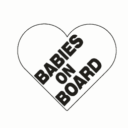 Babies on Board Heart