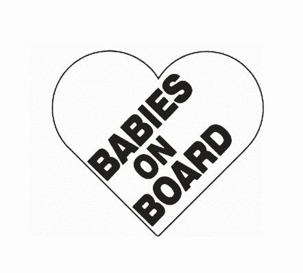 Babies on Board Heart