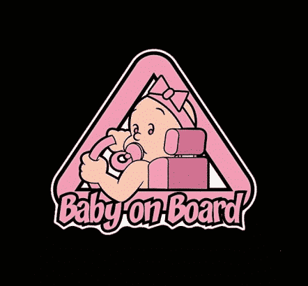 Baby Driver on Board Sticker