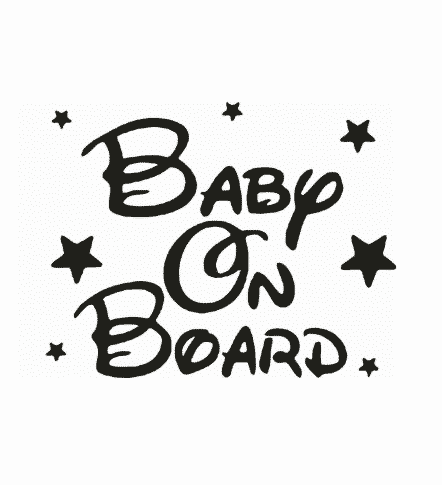 Disney Stars Baby on Board