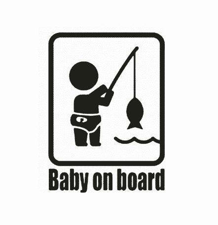Fisherman Baby on Board