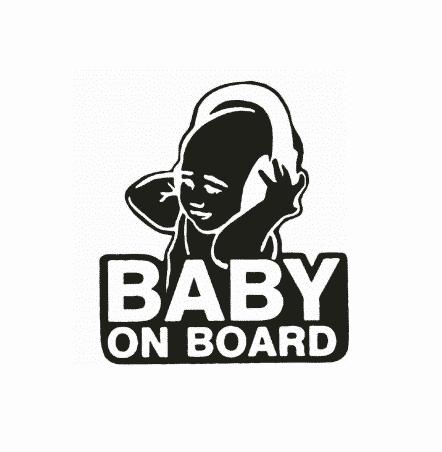 Headphones Baby on Board