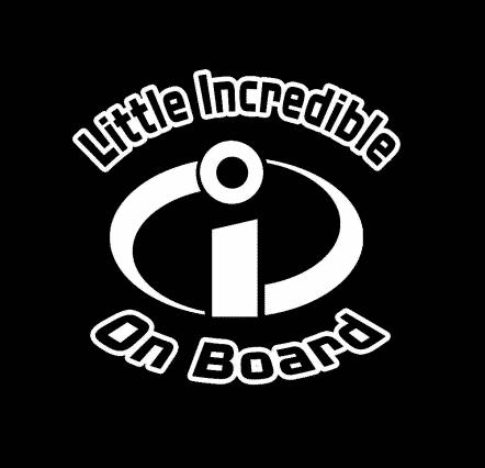 Little Incredible on Board