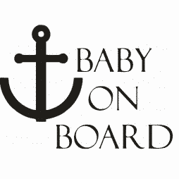 Sailor Baby on Board