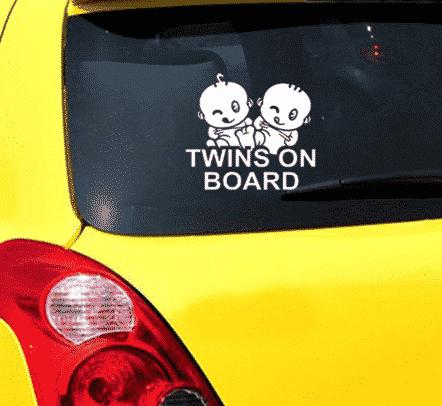 Twins On Board Rascals